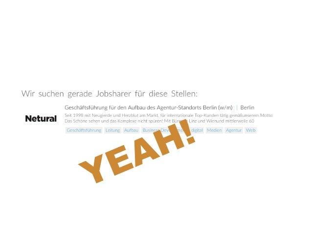 Jobsharing by Steffen Welsch & Yannic Franken (Tandemploy