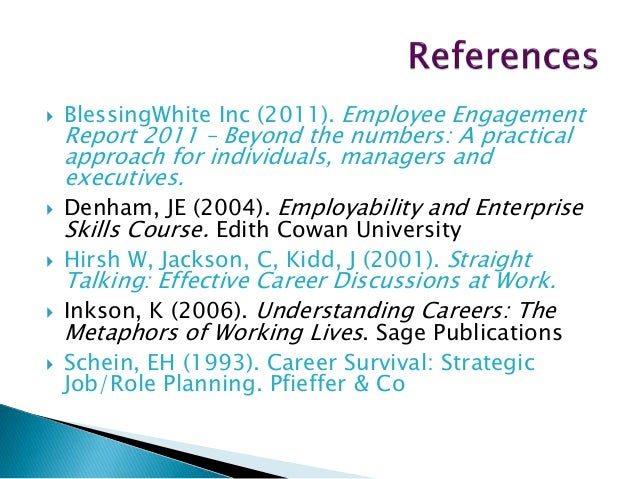 Understanding Careers : The Metaphors of Working Lives