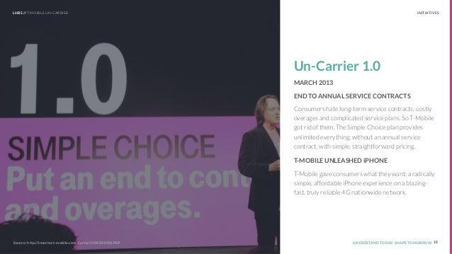 t-mobile uncarrier case study