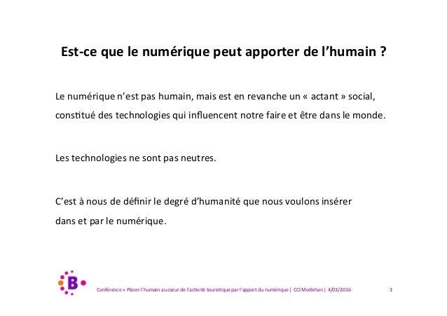 Comment remettre l'humain au coeur de nos stratégies numériques ? Slide 3