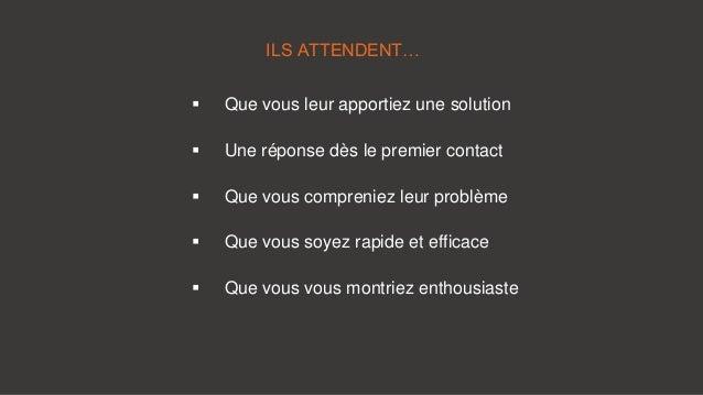 5 Choses fondamentales que vos clients attendent de votre Service Clients Slide 2