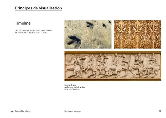 14Fossiles numériquesStudio Chevalvert Timeline Ce principe s'appuiera sur la notion de série, de continuité et d'évolutio...