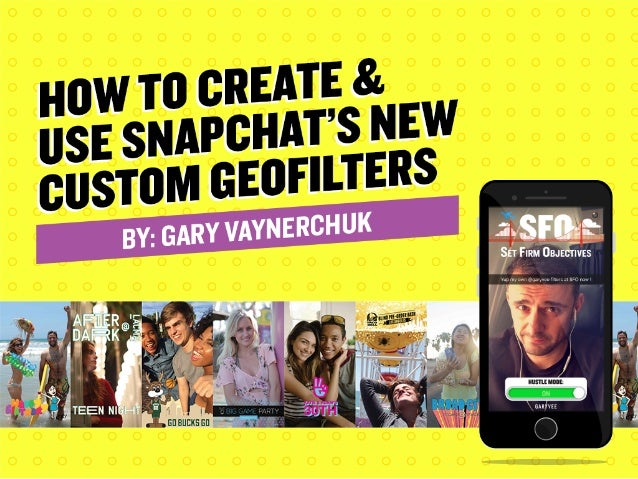 Less than a month ago, Snapchat opened custom on-demand Geofilters to everyone.