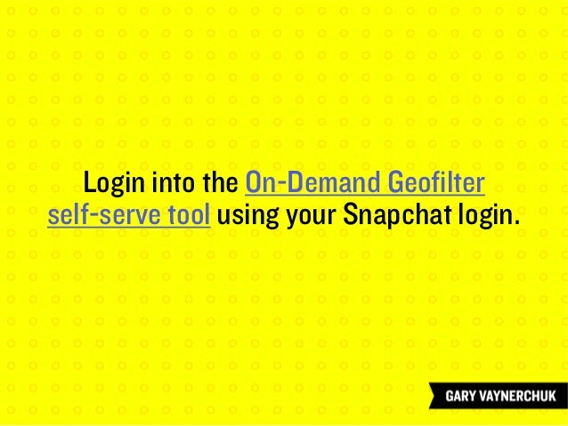 Upload your filter in the self-serve tool...