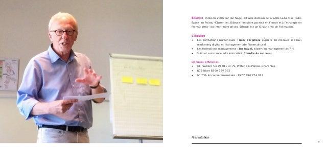 Présentation Bilance Formation & Conseil Slide 2