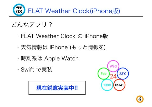 "'3""§ FLAT weather C| ock(iPhoneHi5'z) aAe77u?  - FLAT Weather Clock CD iPhoneliIi  - 9E'>—T_1'i§$l?4li iPhone (:5 9 <': '|..."