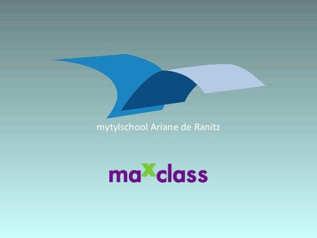 mytylschool Ariane de Ranitz
