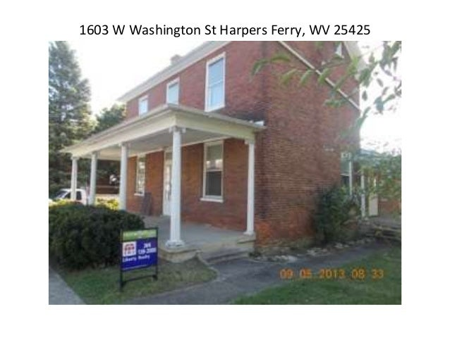 1603 W Washington St Harpers Ferry, WV 25425
