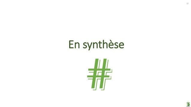 En synthèse 17