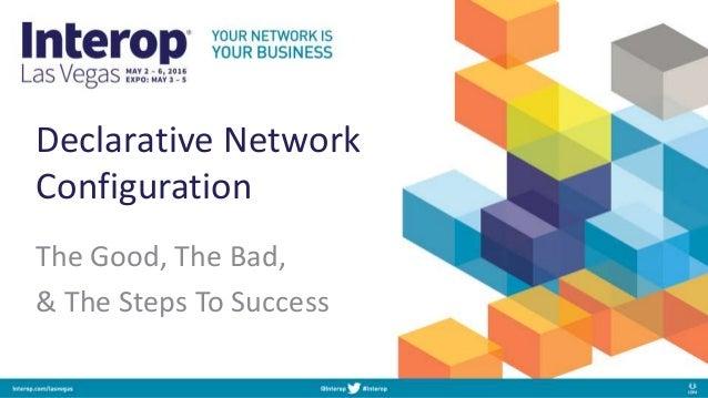 declarative network configuration