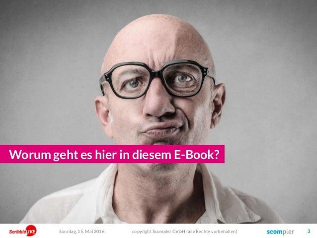 Think better, not more. Strategisches Content Marketing mit dem SCOM Framework. Slide 3