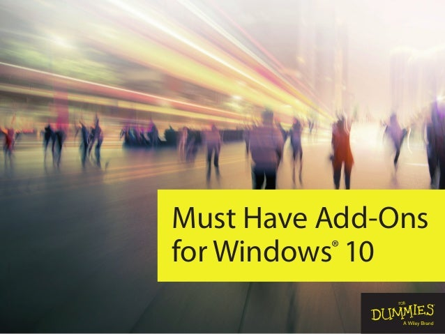 Must Have Add-Ons for Windows® 10 Coverimage©-aniaostudio-/iStockphoto
