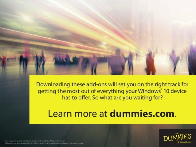 Cover image © -aniaostudio- / iStockphoto; Vector icons © neyro2008 and © Iazun / Getty Images For Dummies is a registered...