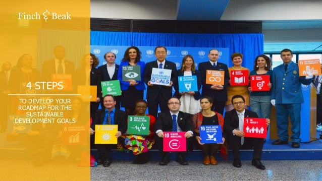 TO DEVELOP YOUR ROADMAP FOR THE SUSTAINABLE DEVELOPMENT GOALS 4 STEPS