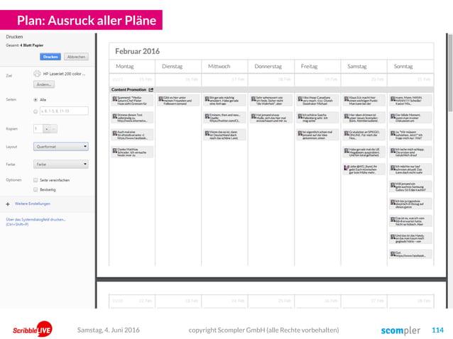 Plan: Ausruck aller Pläne copyright Scompler GmbH (alle Rechte vorbehalten) 114Samstag, 4. Juni 2016