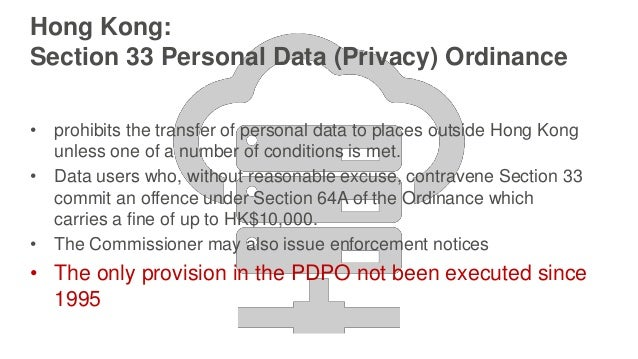 Main page of Office of the Privacy Commissioner for Personal Data