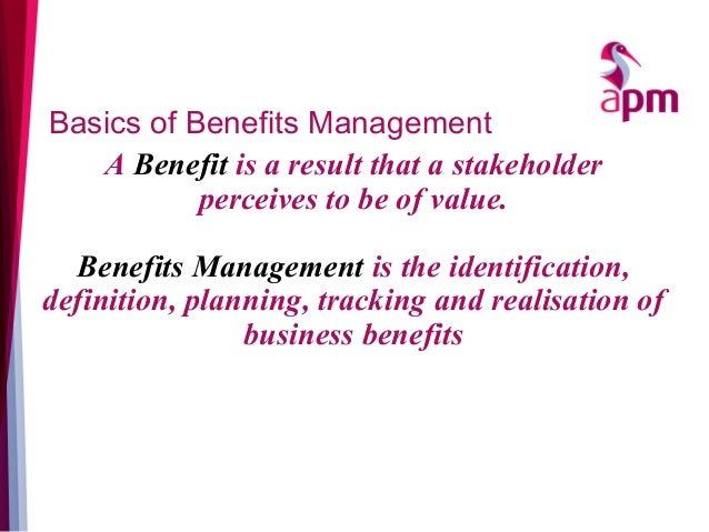 APM Benefits Summit 2016 - Hugo MInney SROI Slide 3