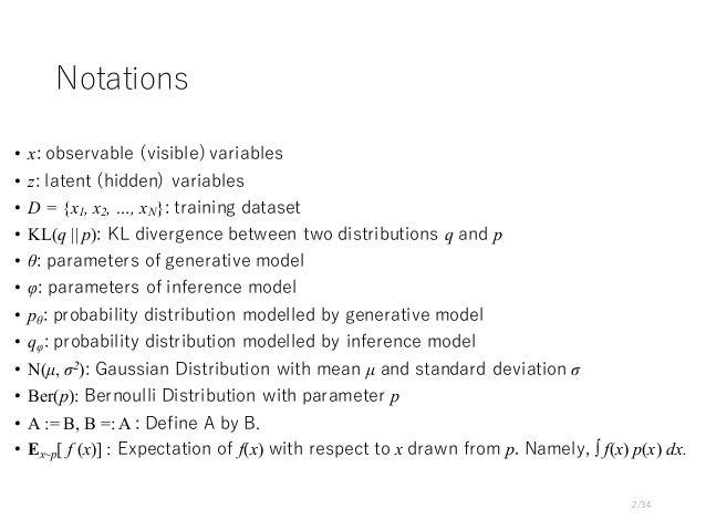 VAE-type Deep Generative Models Slide 2