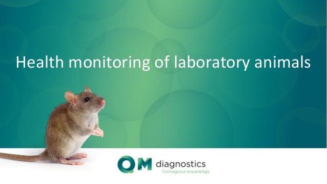 Health monitoring of laboratory animals