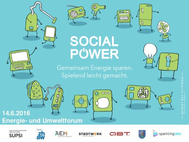 Social Power Project 14.6.2016 Energie- und Umweltforum