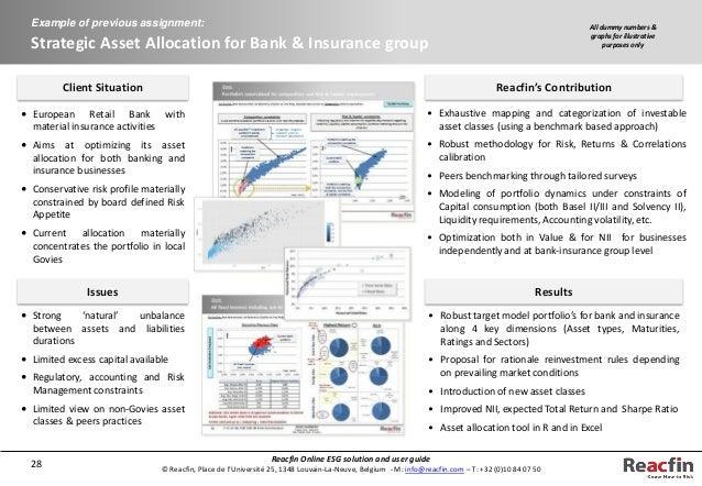 "economic scenario generator This projection is achieved in practice through ""economic scenario generators"" ( esg), which are inputs for the calculus of the economic value of assets and."