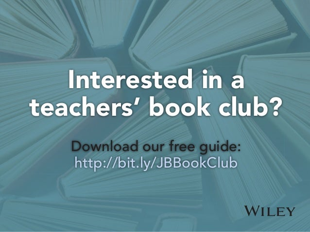Interested in a teachers' book club? Download our free guide: http://bit.ly/JBBookClub