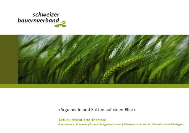 «Argumente und Fakten auf einen Blick» Aktuell diskutierte Themen: Grenzschutz|Finanzen|Grundstückgewinnsteuer|Pflan...