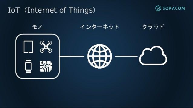 IoT Lab Connection   IoT に必要な通信とは IoT通信プラットフォームSORACOM Slide 3
