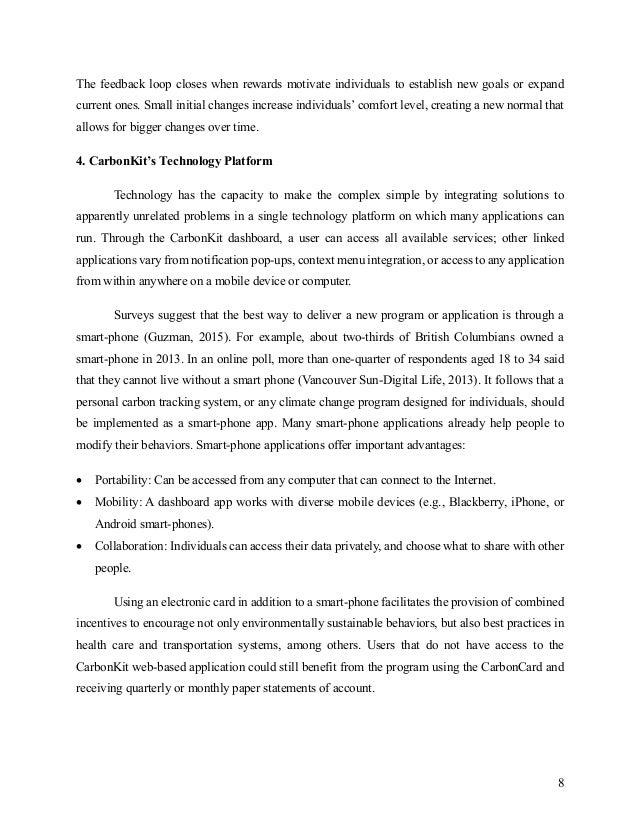 CarbonKit: a technological platform for personal carbon ...