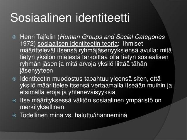 Kulttuurinen Identiteetti