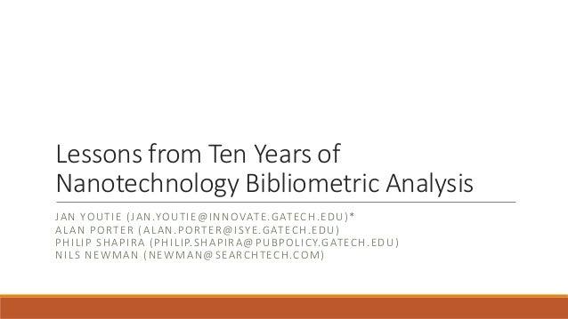 on nanotechnology essay on nanotechnology