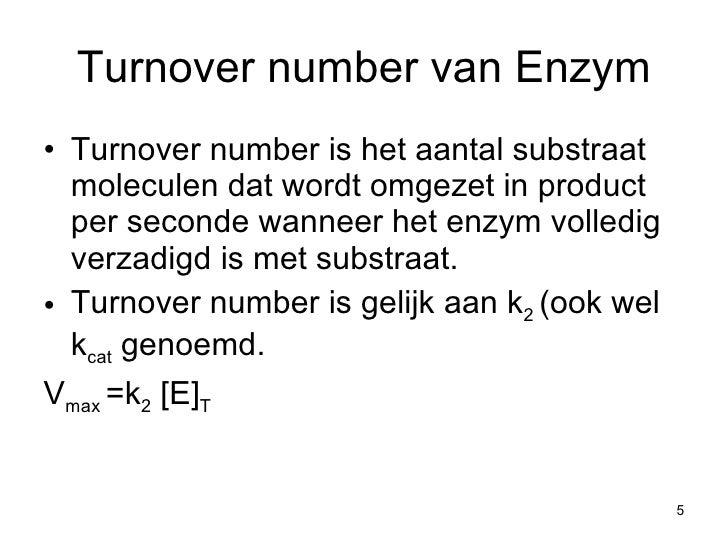 Enzymen 3e deel for Substraat betekenis