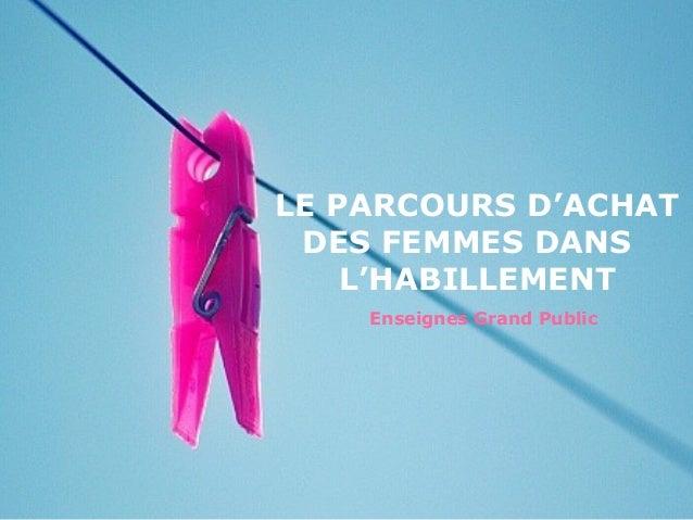 Etude Pret A Porter Feminin Qu Est Ce Qui Incite Les Femmes A Se Re