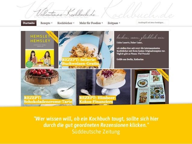 """""""Wer wissen will, ob ein Kochbuch taugt, sollte sich hier durch die gut geordneten Rezensionen klicken.""""  Süddeutsche Ze..."""