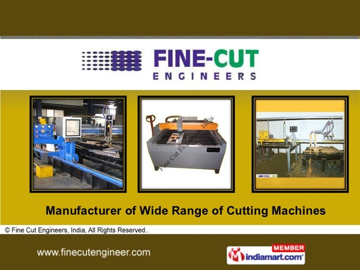 Manufacturer of Wide Range of Cutting Machines