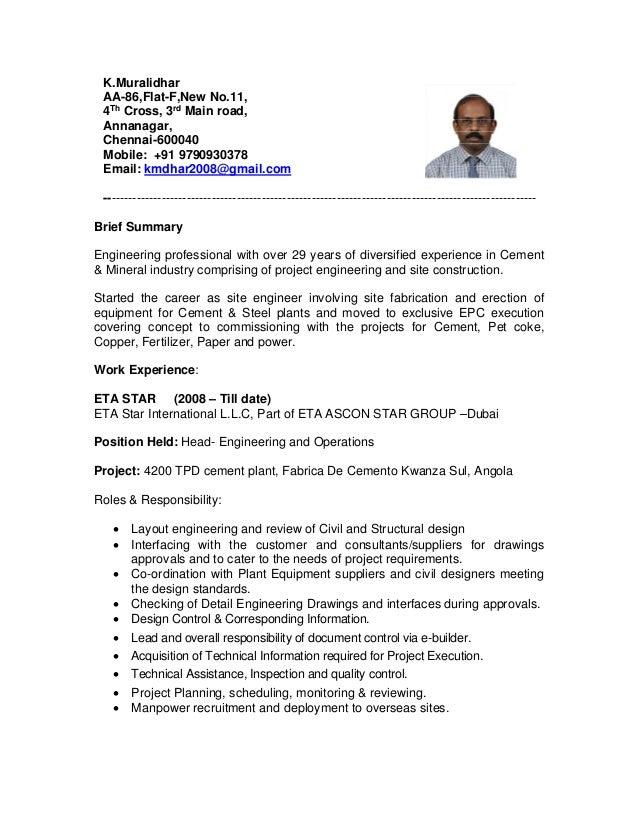 Murali-Resume