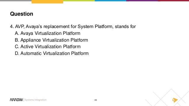 Avaya Aura 7 0 - What's New Webinar Slides