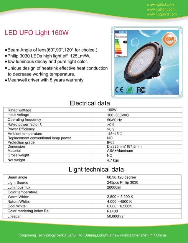160W LED UFO LIGHT