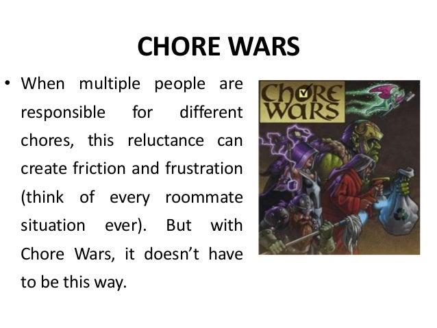 chore wars life style gamification manu melwin joy