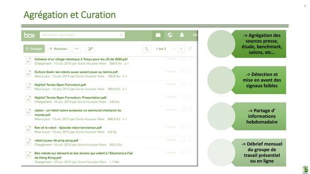Agrégation et Curation 8 taihulight LE HYPE CYCLE DU GARTNER-> Agrégation des sources presse, étude, benchmark, salons, et...