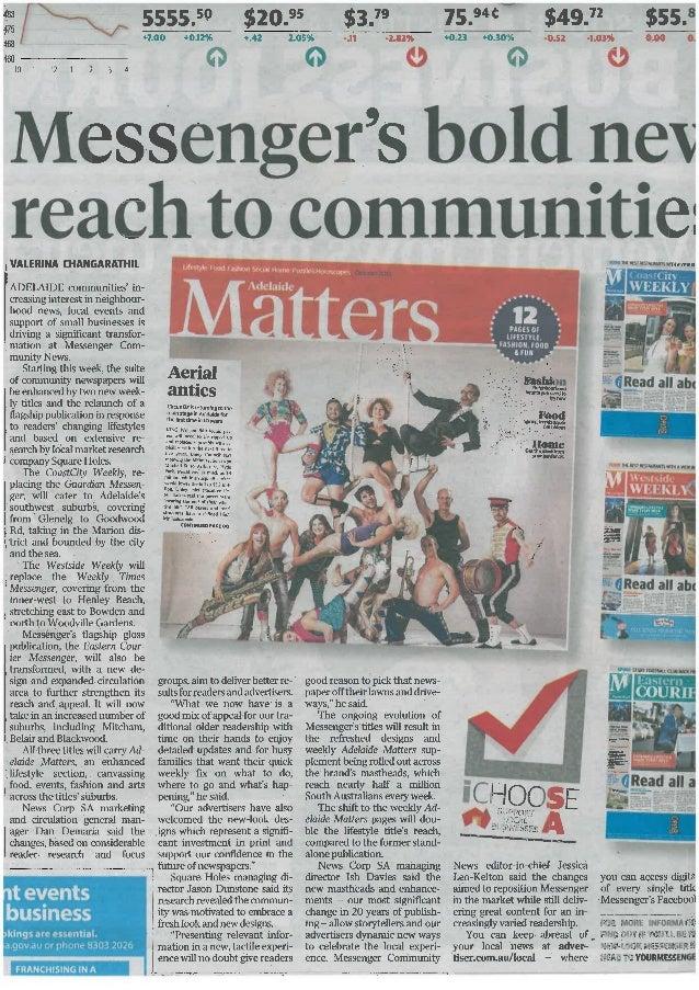 Messenger's Bold New Reach to Communities