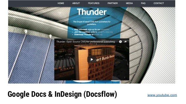 Google Docs & InDesign (Docsflow) www.youtube.com