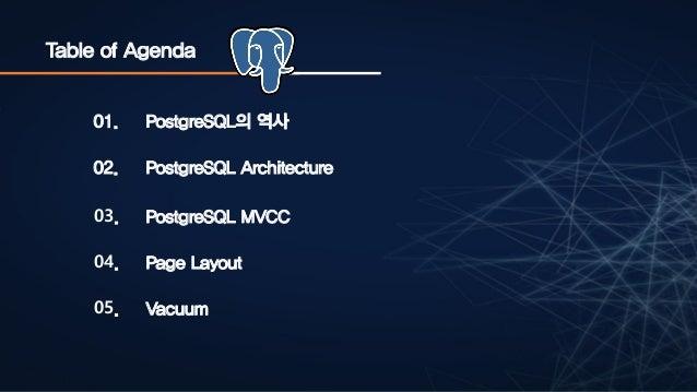 PostgreSQL Deep Internal Slide 2