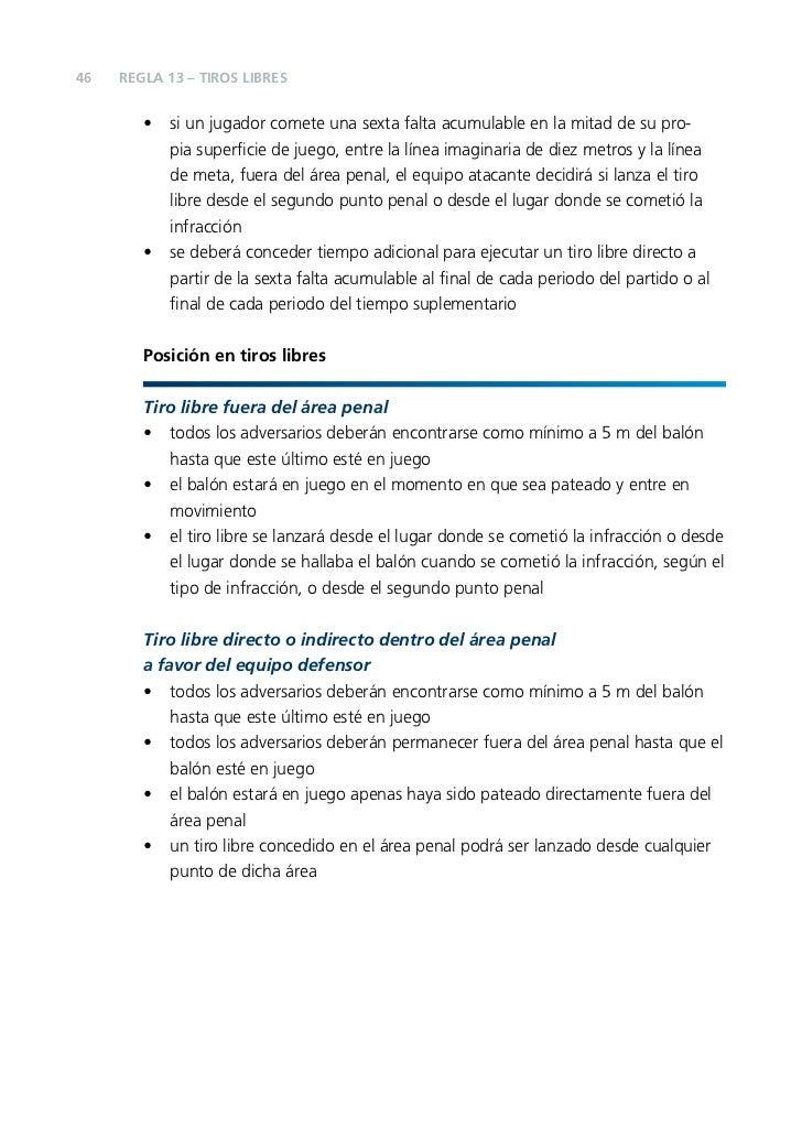 1610 reglas de juego futsal 2010 2011 for Regla del fuera de lugar
