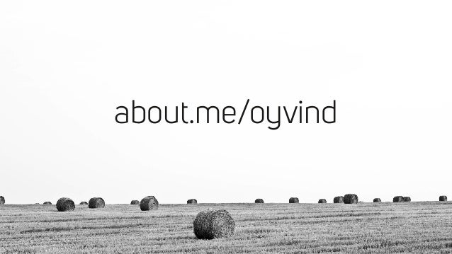 about.me/oyvind