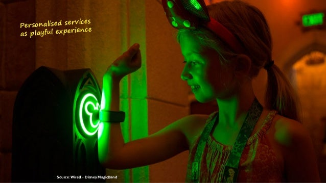 @BennoLoewenberg BEISPIEL Source: Benno LoewenbergSource: Wired – Disney MagicBand Personalised services as playful expe...