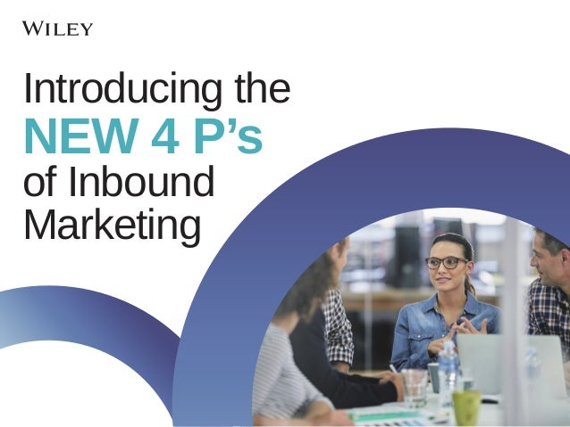 Introducing the NEW 4 P's of Inbound Marketing