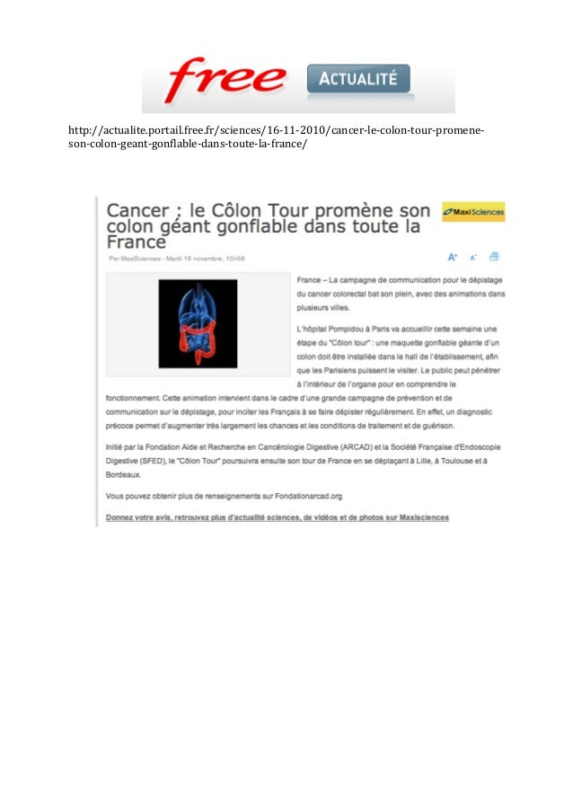 http://actualite.portail.free.fr/sciences/16‐11‐2010/cancer‐le‐colon‐tour‐promene‐ son‐colon‐geant‐gonflable‐dans‐toute‐la...