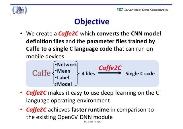 OpenCV DNN module vs  Ours method