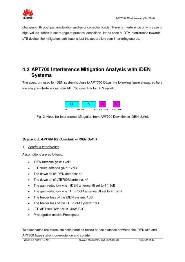APT 700 LTE Whitepaper Huawei